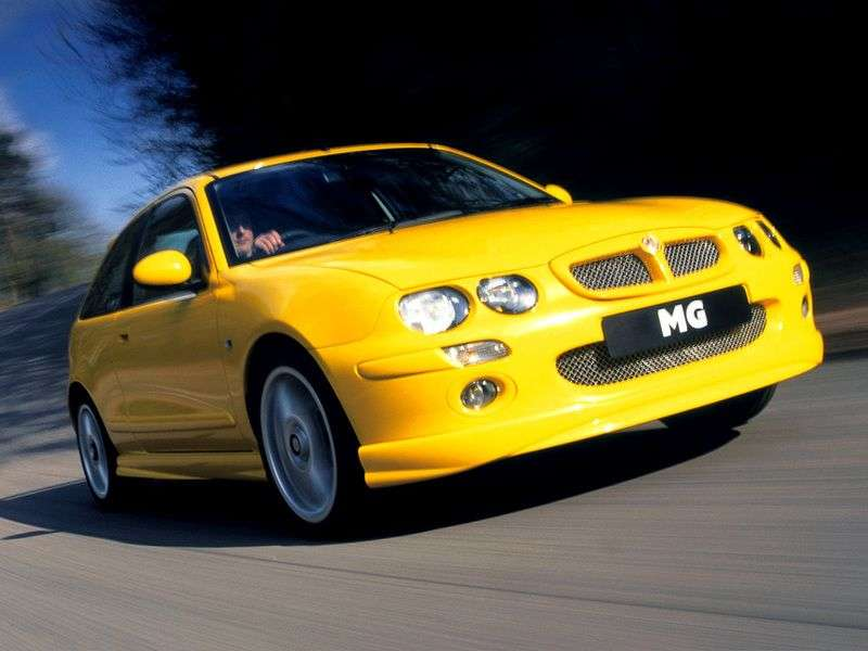 MG ZR 1st generation hatchback 2.0 TDi MT (2001–2005)