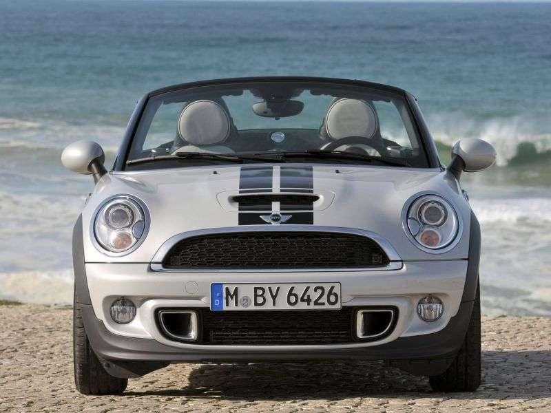 Mini Roadster 1st generation Cooper S roadster 2 dv. 1.6 MT Basic (2012 – present)