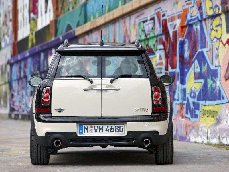 Mini Clubman 1. generacji [zmiana stylizacji] Cooper S kombi 3 drzwiowy. 1,6 AT Hyde Park (2010 do chwili obecnej)