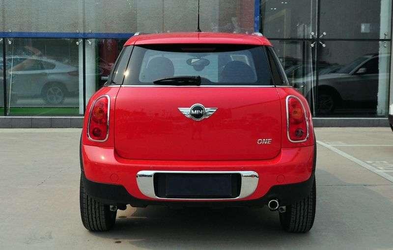 Mini Countryman 1st generation One hatchback 5 dv. 1.6 MT Basic (2010 – present)