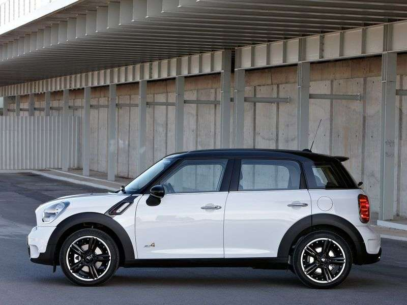 Mini Countryman 1st generation Cooper S hatchback 5 dv. 1.6 AT ALL4 Basic (2010 – present)