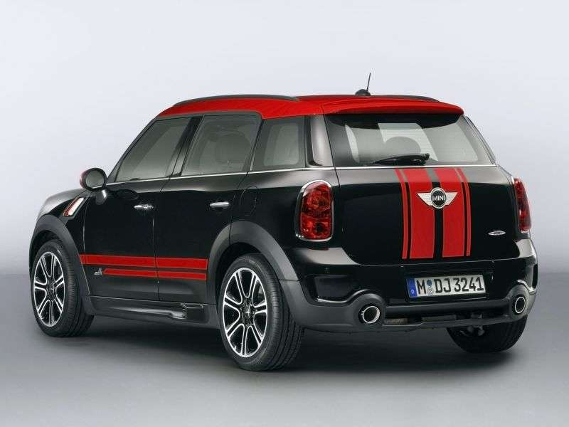 Mini Countryman 1st generation John Cooper Works 5 in. Hatchback 1.6 MT ALL4 Basic (2012 – present)