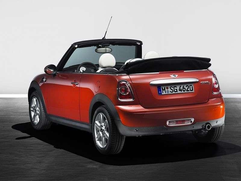 Mini Cabrio 2. generacji [zmiana stylizacji] Cooper Cabrio 2 drzwiowy. 1,6 MT Basic (2010 obecnie)