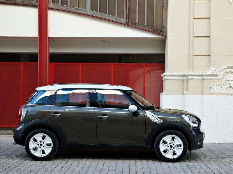 Mini Countryman 1st generation Cooper hatchback 5 dv. 1.6 MT Basic (2010 – present)