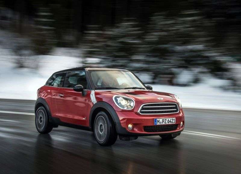 Mini Paceman 1st generation Cooper 3 bit crossover. 1.6 AT Basic (2012 – present)