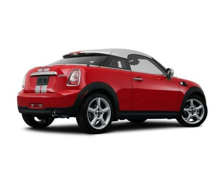 Mini Coupe 1 generation Cooper coupe 2 bit. 1.6 AT Basic (2011 – present)