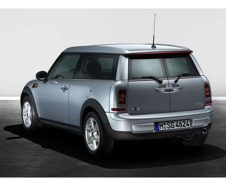 Mini Clubman 1st generation [restyling] One wagon 3 dv. 1.6 AT Basic (2010 – present)