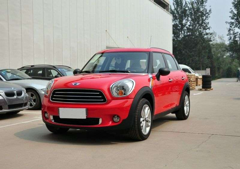 Mini Countryman 1st generation One hatchback 5 dv. 1.6 AT Basic (2010 – present)