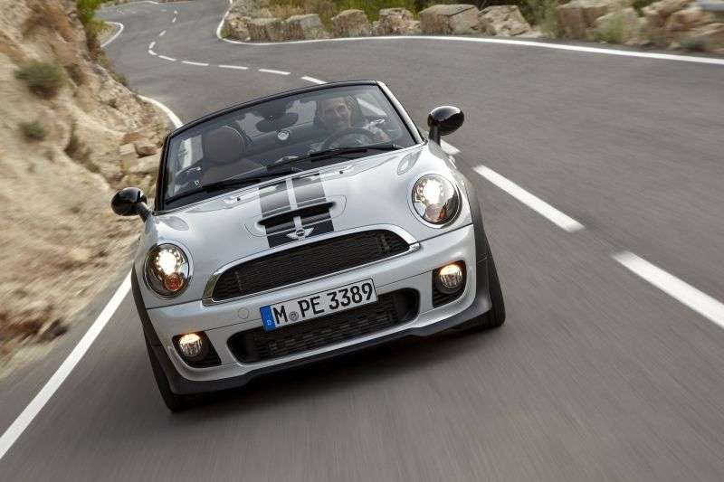 Mini Roadster 1st generation John Cooper Works 2 dv roadster 1.6 MT Basic (2011 – present)