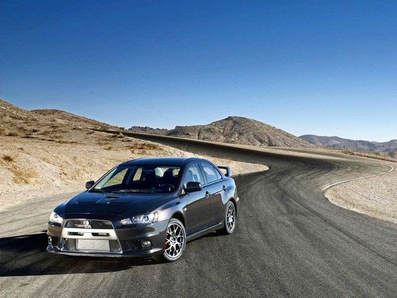 Mitsubishi Lancer 7th generation Evolution 4 door sedan. 2.0 MT AWD Turbo Ultimate (2008–2013)
