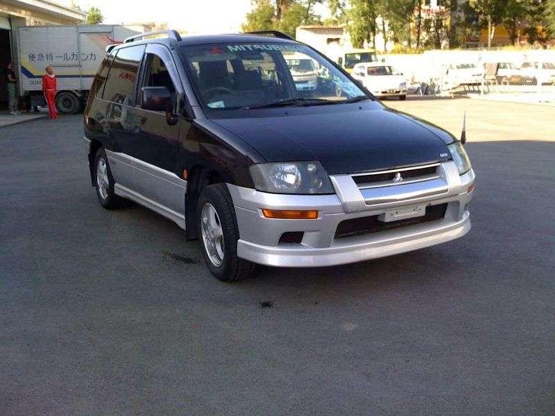 Mitsubishi RVR 2 generation crossover 1.8 MT (1997–2002)