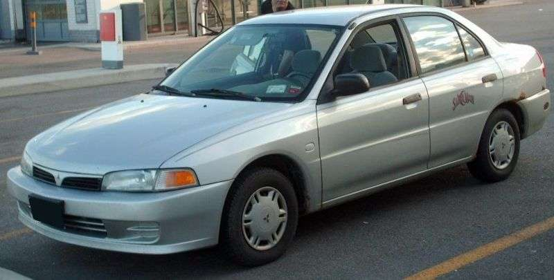Mitsubishi Mirage 5 generation sedan 1.6 MT (1995–2002)
