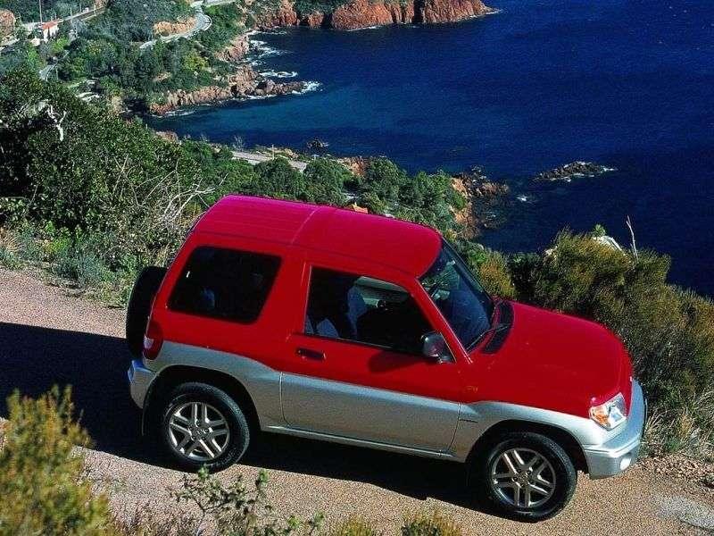 Mitsubishi Pajero Pinin 1st generation SUV 3 dv. 1.8 GDI AT (1999–2001)