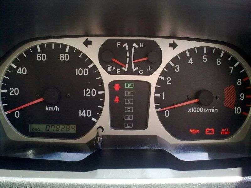 Mitsubishi Pajero Mini H53 / 58A [restyling] SUV 0.7 Turbo MT 2WD (2005–2008)