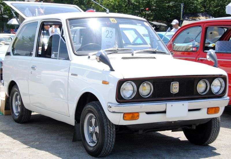 Mitsubishi Minica 2nd generation hatchback 0.4 MT (1969–1971)