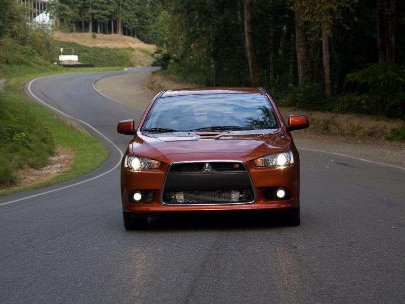 Mitsubishi Lancer 7th generation Ralliart 4 door sedan. 2.0 TC SST S04 (2008 – present)