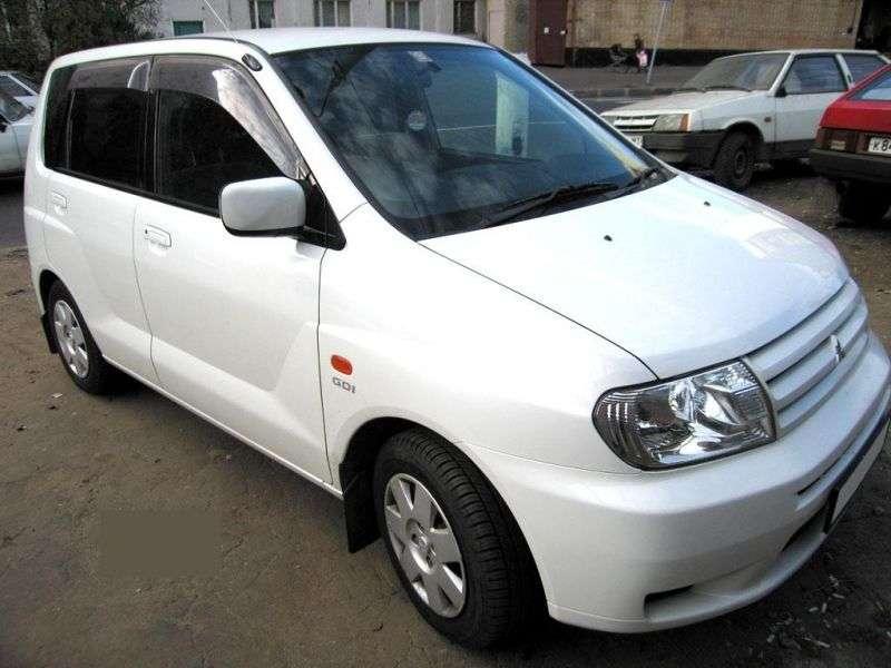 Mitsubishi Dingo 1st generation 1.3 AT minivan (1999 – n.)