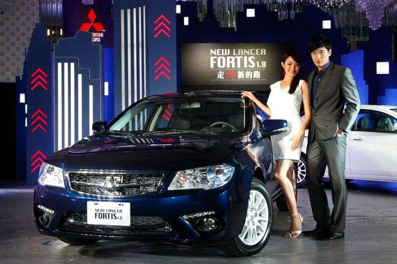 Mitsubishi Lancer 7th generation [restyling] Fortis 4 door sedan. 1.6 MT (2012 – n. In.)