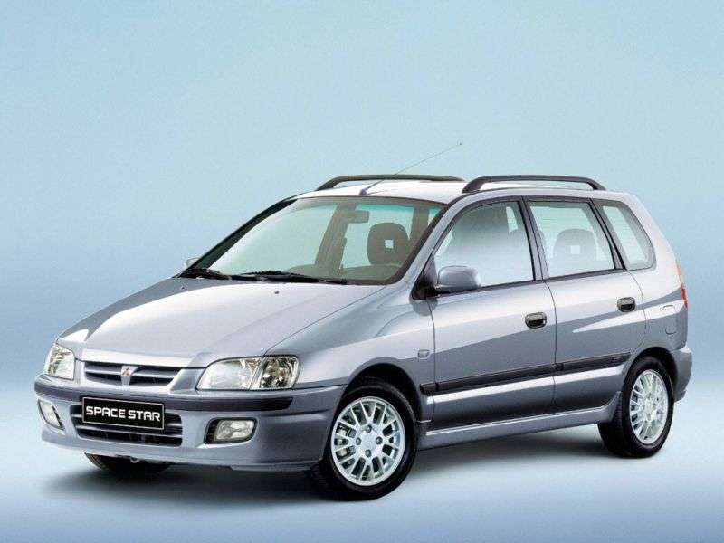 Mitsubishi Space Star 1st generation minivan 1.9 DI D MT (2001–2002)