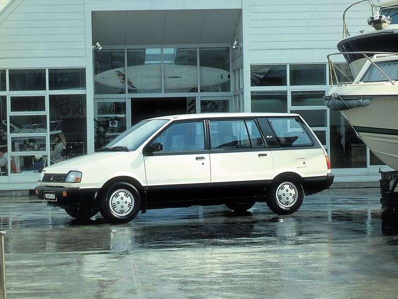 Mitsubishi Space Wagon Typ D00 Minivan 2.0 MT 4WD (1985–1991)