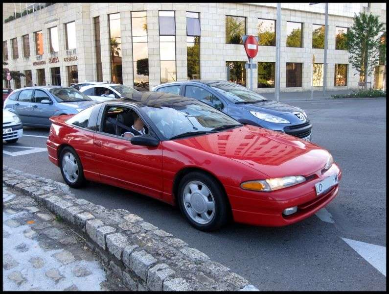 Mitsubishi Eclipse 1G [restyling] coupe 2.0 AT Turbo (1992–1994)