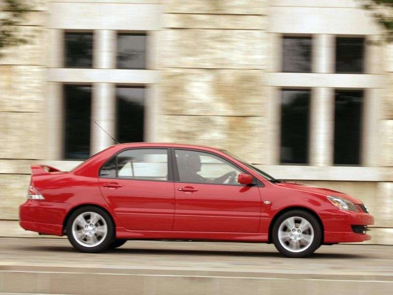 Mitsubishi Lancer 6th generation [restyling] Ralliart 4 door sedan. 1.8 T AT (2003–2004)