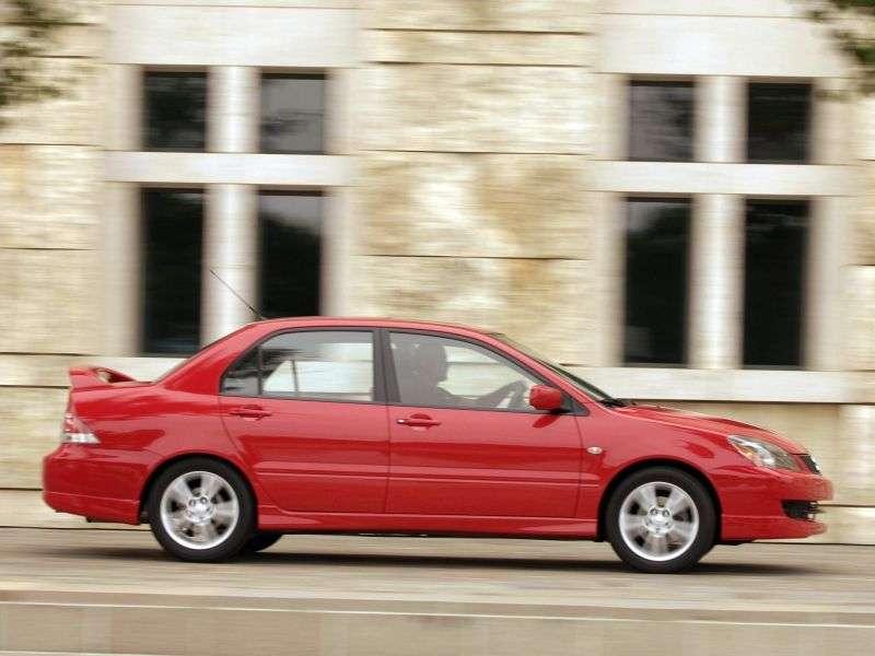 Mitsubishi Lancer 6th generation [restyling] Ralliart 4 door sedan. 2.4 MT (2003–2005)