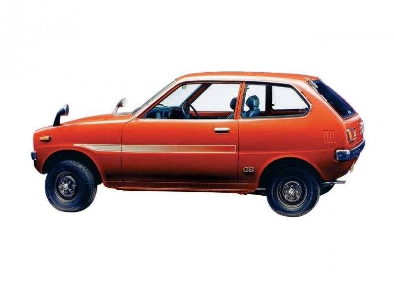 Mitsubishi Minica F4etchback 0.4 MT (1973–1976)