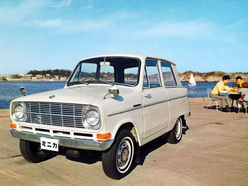 Mitsubishi Minica LA20sedan 0.4 MT (1962–1964)