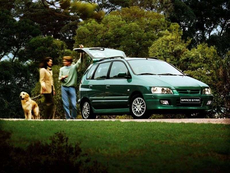 Mitsubishi Space Star 1st generation minivan 1.8 GDI MT (1998–2002)