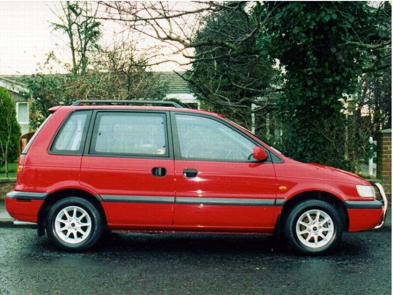 Mitsubishi Space Runner 1st generation minivan 1.8 MT (1991–1995)