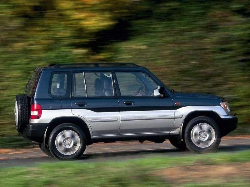 Mitsubishi Pajero Pinin 1st generation SUV 5 bit. 2.0 GDI AT (2000–2006)