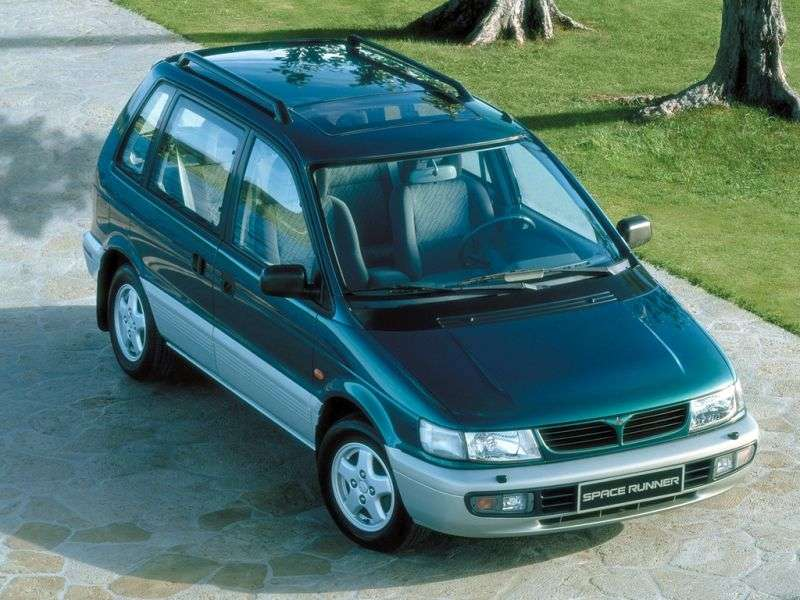 Mitsubishi Space Runner 1st generation [restyling] minivan 1.8 AT (1995–1999)