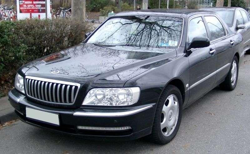 Mitsubishi Proudia 1st generation sedan 4.5 AT (1999 – n.)