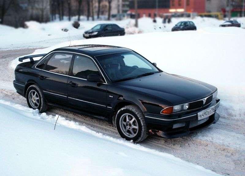 Mitsubishi Sigma 4th generation sedan 3.0 AT V6 (1991–1996)