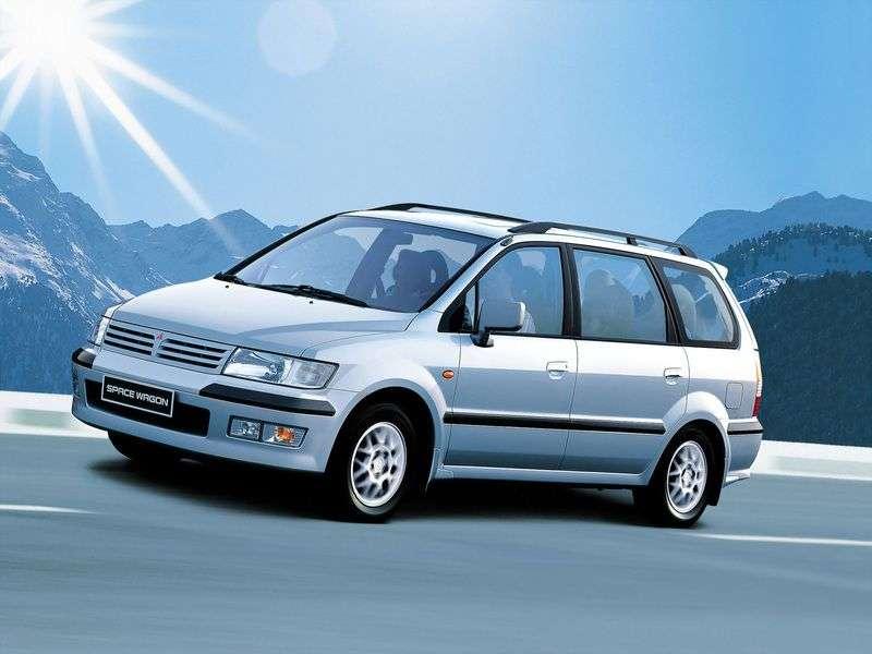 Mitsubishi Space Wagon Typ N50 Minivan 2.4 GDi MT 4WD (1998–2000)