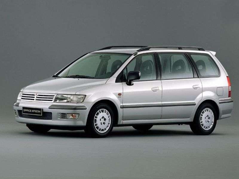 Mitsubishi Space Wagon Typ N50 Minivan 2.4 GDi MT 4WD (2000–2004)