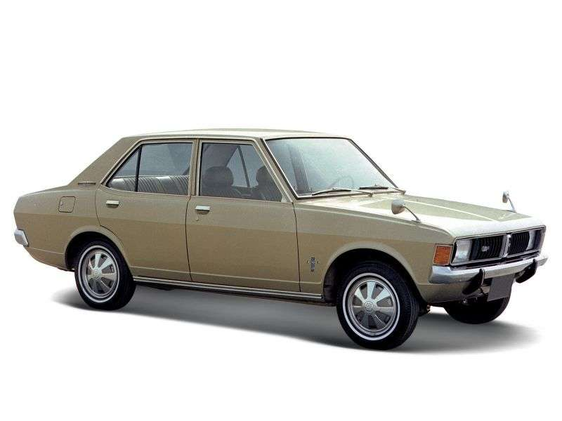 Mitsubishi Galant 1st generation 1.3 MT sedan (1969–1971)