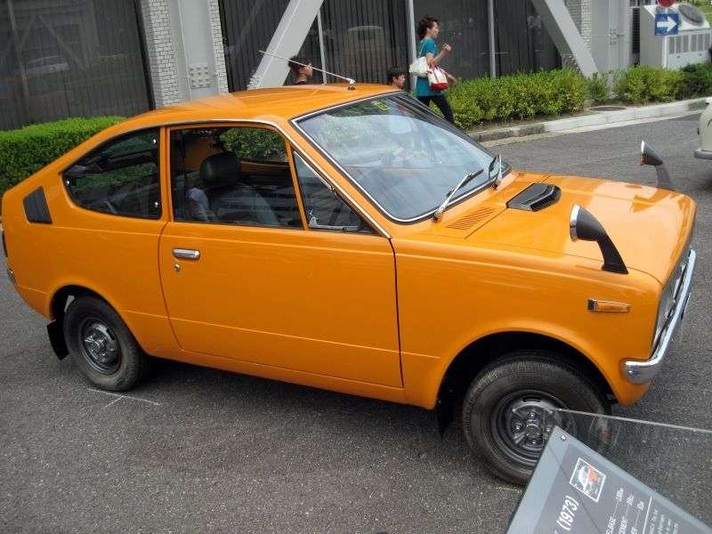 Mitsubishi Minica 2nd generation Skipper IV coupe 0.4 MT (1971–1974)