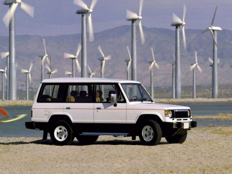 Mitsubishi Montero 1st generation SUV 5 doors 2.0 Turbo MT (1983–1991)