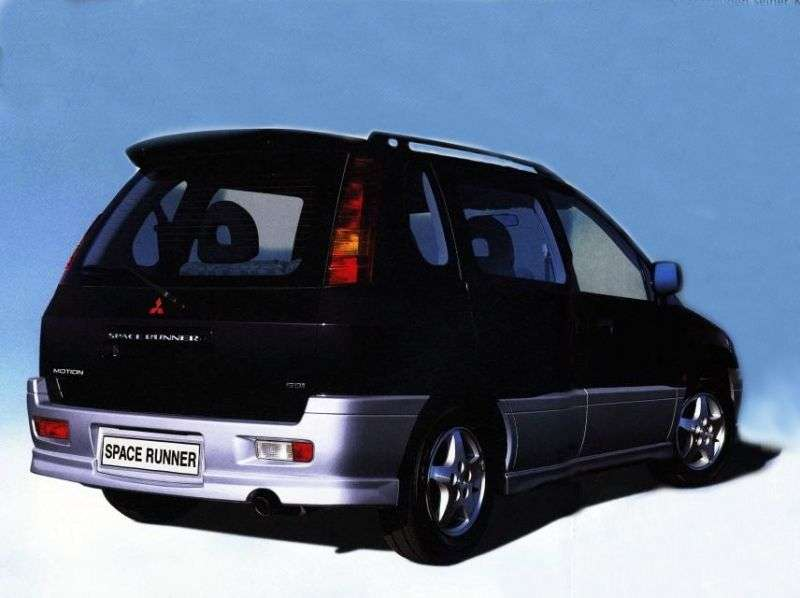 Mitsubishi Space Runner 2nd generation minivan 2.0 MT (1999–2002)