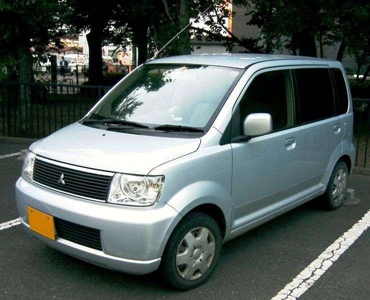Mitsubishi EK Wagon 1st generation minivan 0.7 AT 4WD (2001 – n.)