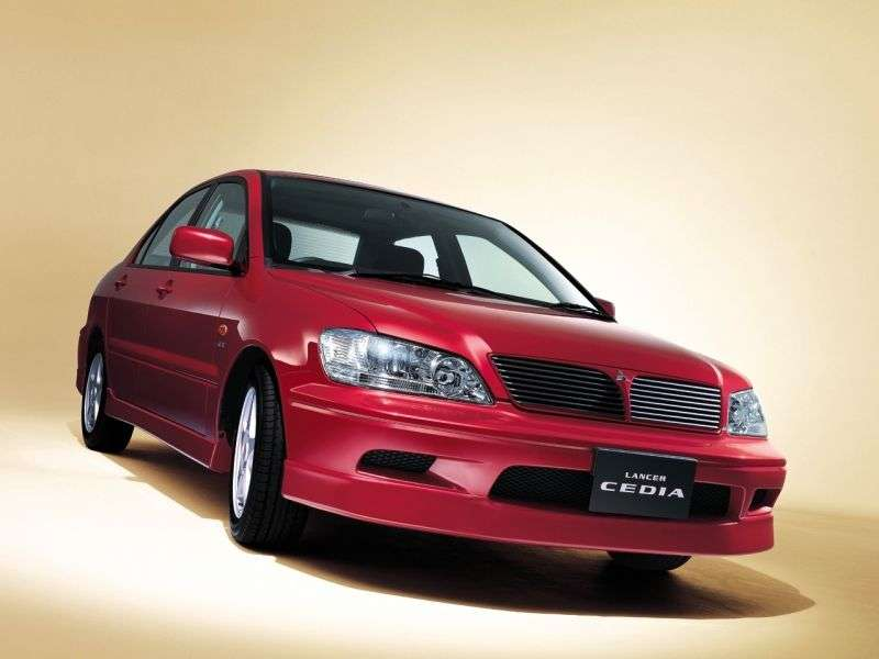 Mitsubishi Lancer 6th generation Cedia sedan 1.5 CVT (2000–2003)