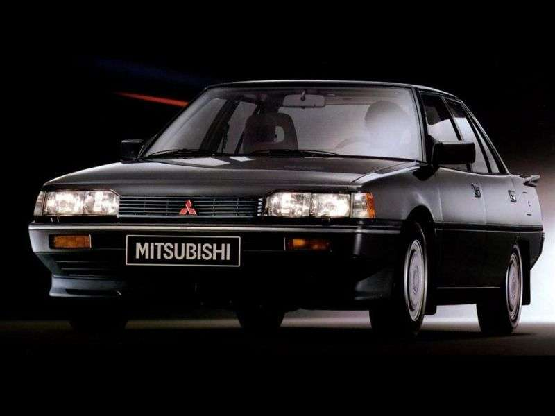 Mitsubishi Galant 5 generation sedan 2.0 AT (1984 1988)
