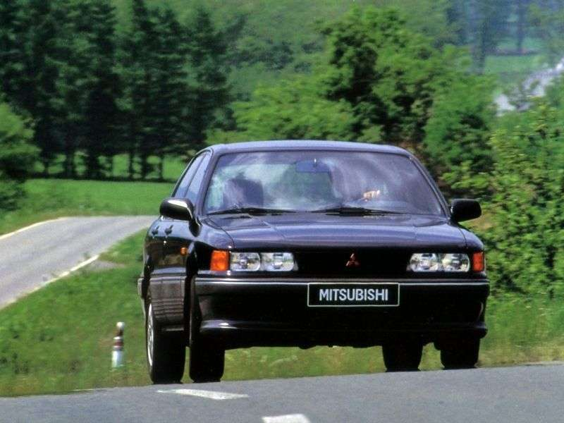 Mitsubishi Galant 6 generation sedan 1.8 MT (1990–1993)