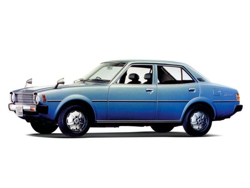 Mitsubishi Lancer A70 [druga zmiana stylizacji] JDM sedan 4 drzwi. 1.4 5MT (1976 1979)
