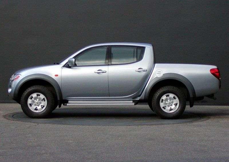 Mitsubishi L200 4th generation pickup 4 bit. 2.5 DI D MT Intense S94 (2006–2011)