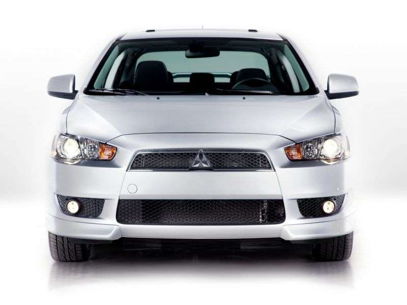 Mitsubishi Lancer 7 generation 4 door sedan. 2.0 CVT (2007–2010)