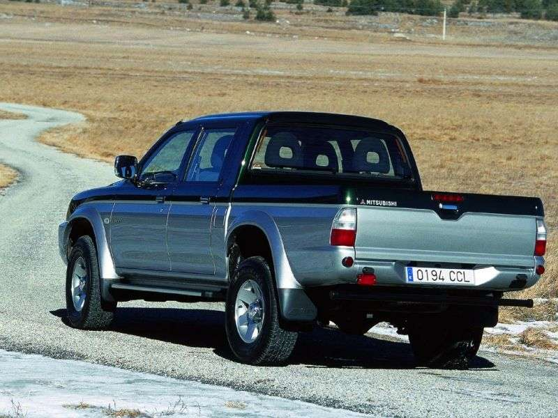 Mitsubishi L200 3rd generation pickup 4 bit. 2.5 TD AT 4WD (2002–2005)