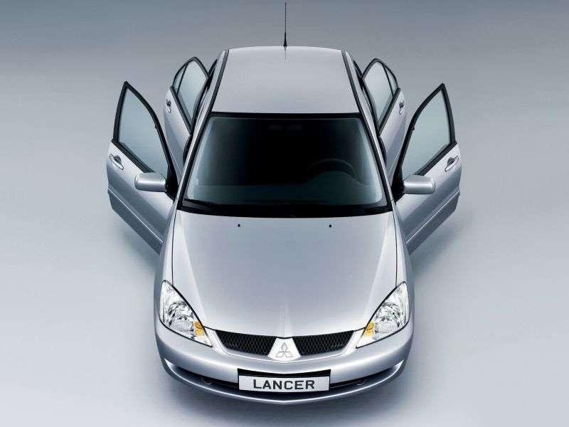 Mitsubishi Lancer 6th generation [2nd restyling] 2.4 sedan Ralliart MT (2005–2007)